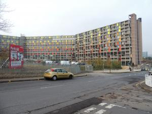 Park Hill in Sheffield (streets in the sky)